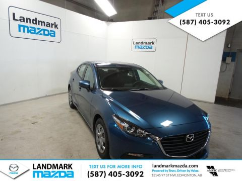 New 2018 Mazda3 GX Front Wheel Drive 4 Door Car